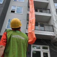 Easy Chute Saving SERVPRO Time On the Remodeling Project